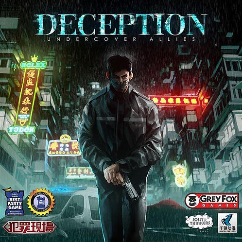 Deception: Murder in Hong Kong - Undercover Allies Expansion
