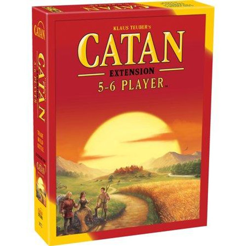 Catan: Base Game 5-6 Player Expansion