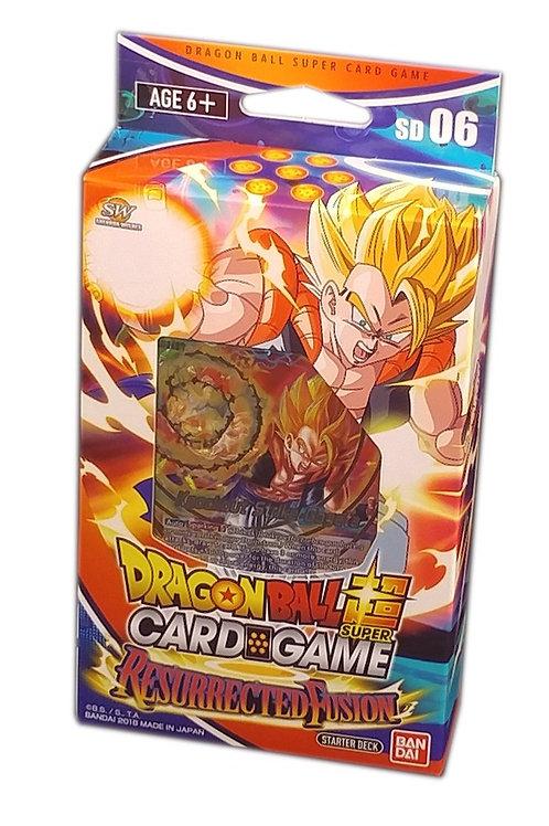 Dragonball Super Starter Deck 6 - Resurrected Fusion