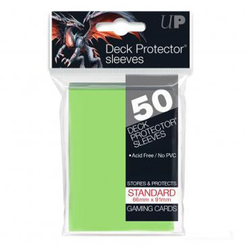 UltraPRO 50ct Lime Green Sleeves
