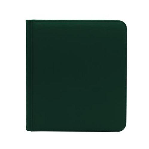 Dex 12pkt Zip Binder Green