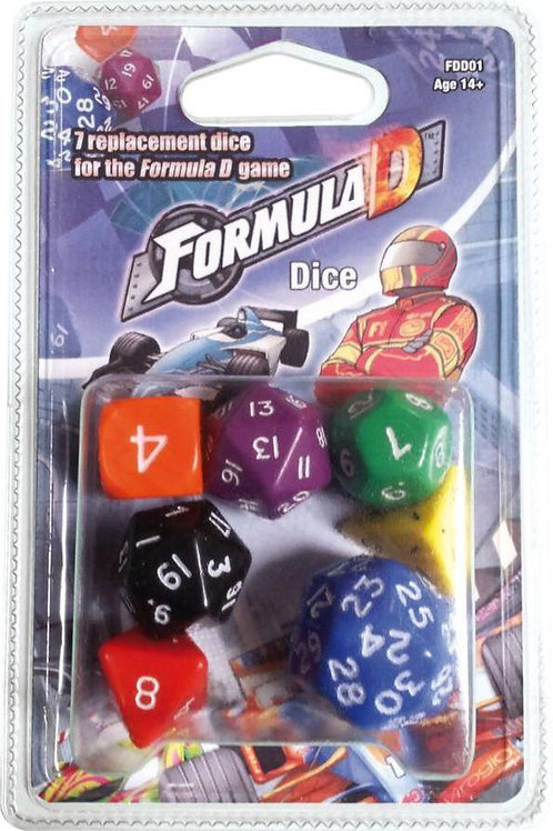 Formula D - Replacement Dice