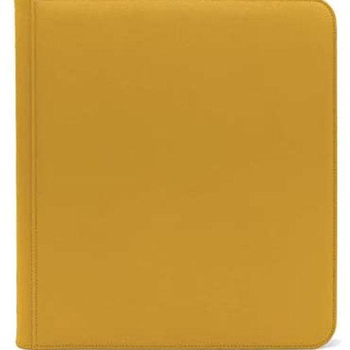 Dex 12pkt Zip Binder Yellow