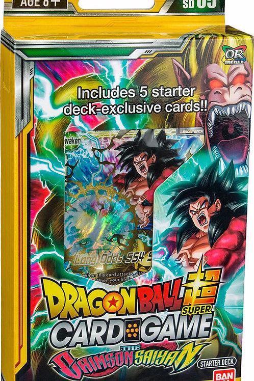 Dragonball Super Starter Deck 5 -The Crimson Saiyan