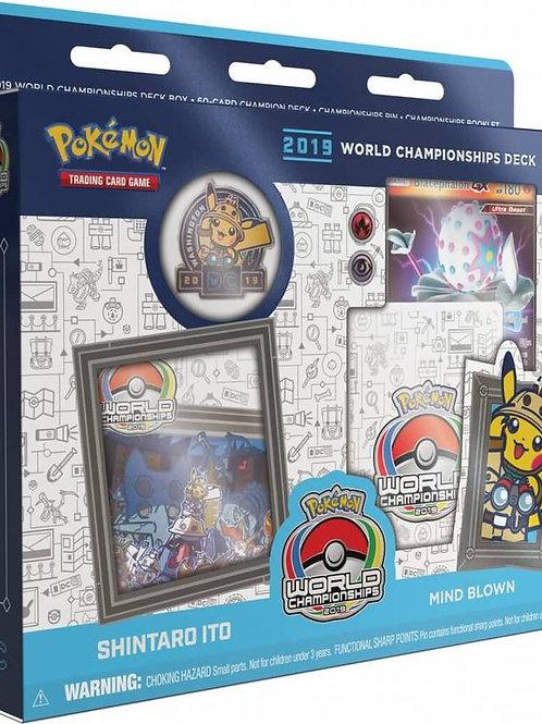 Pokemon World Championship 2019 - Shintaro Ito Mind Blown Deck