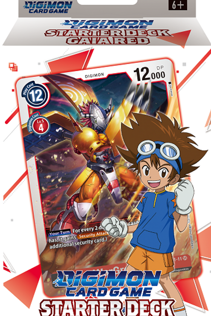 Digimon TCG Starter Deck - Gaia Red