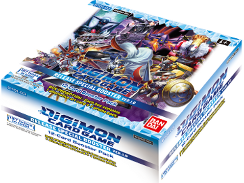 Digimon TCG Set 1.0 Booster Box (November Pre-Release)
