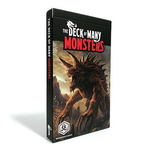 D&D The Deck of Many - Monsters 1