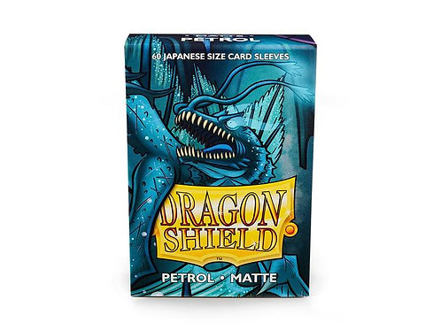 Dragon Shield Japanese Matte Petrol 60ct