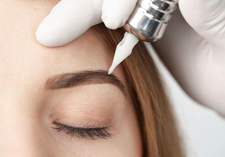 Augenbrauen Make-up