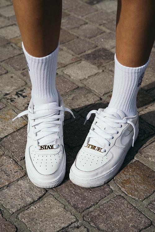 LAFOI x IAM. Stay True Gold Shoe Charms