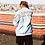 Thumbnail: LAFOI x IAM. Stay True Sky Blue Leather Jacket