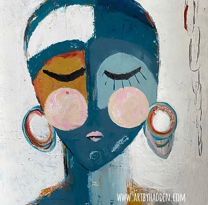 """Tina""  Original Art by Hadden"