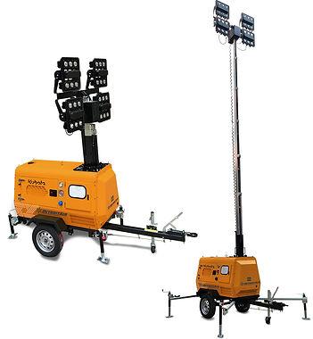 detroit mobile light towers
