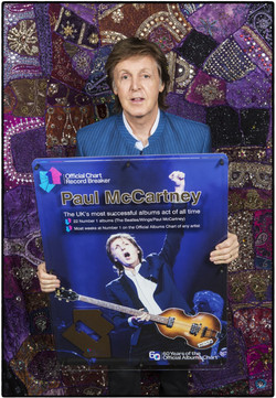 thumbnail_Paul McCartney receives Official Chart Record Breaker award - 60 Years of the Official Alb