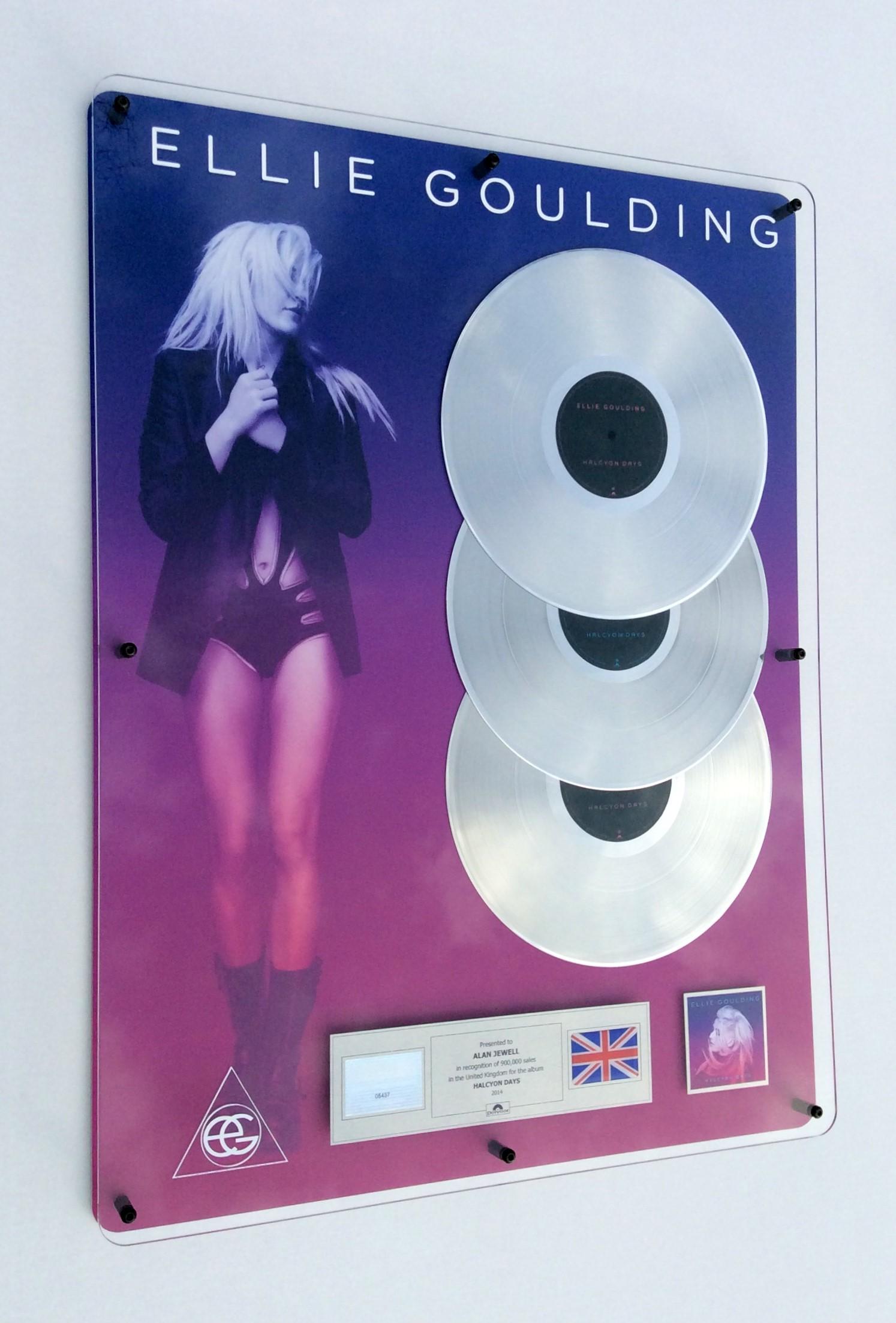Ellie Goulding 600x800mm Acrylic