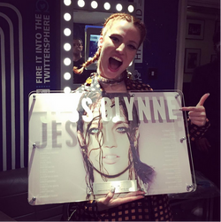 Jess Glynne Disc Award