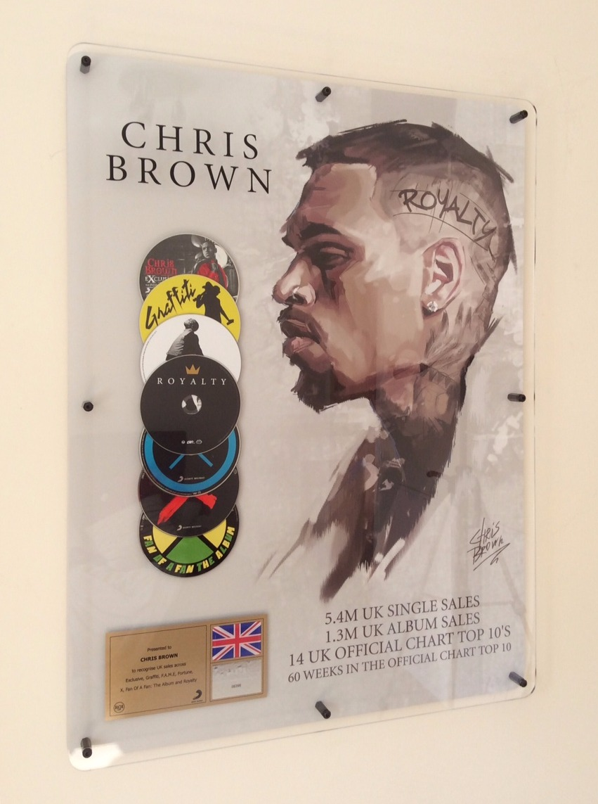 Chris Brown 600x800mm Acrylic