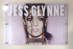 Jess Glynne 395x600mm Acrylic