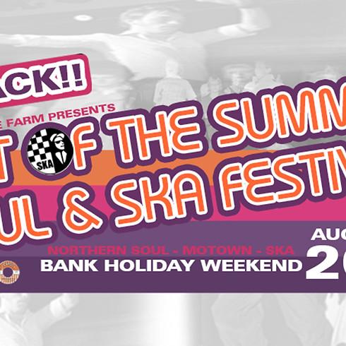 Last of the summer soul & ska festival