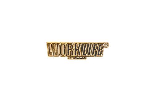 WorkLife® Logo Pin (Gold)