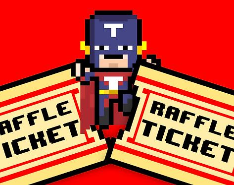 Door prize raffle tickets
