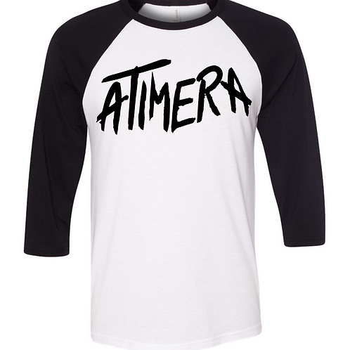 ATIMERA BLACK/WHITE RAGLAND PRE-ORDER