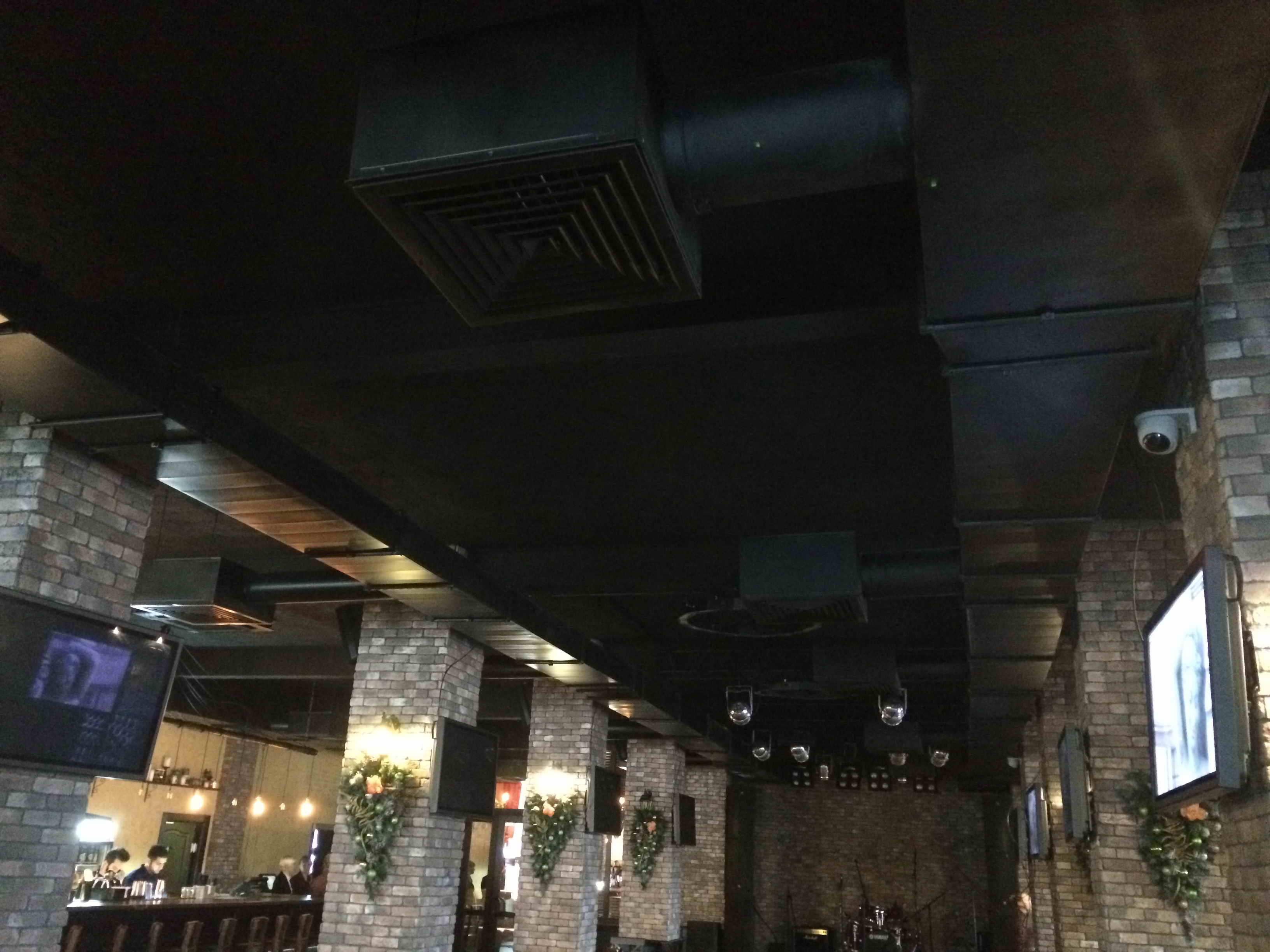 Вентиляция баров и ресторанов