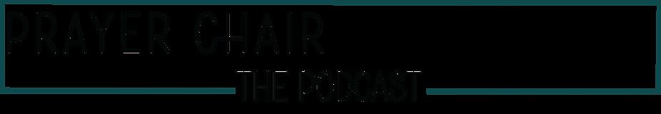 prayer chair logo with border podcast.pn