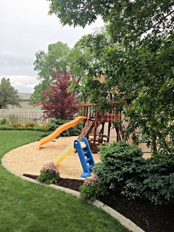 playground chips/colored mulch