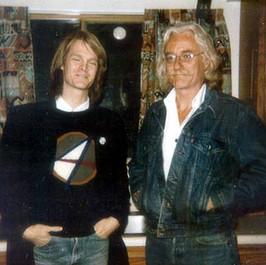 Bill with Daniel Moore (Mad Dogs & Englishmen)
