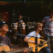 Concert in Cahoots backyard