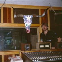 Gary Eichholtz with Skull by Boyd Elder