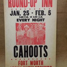 Played the FW Rodeo dance 14 nights in a row several years