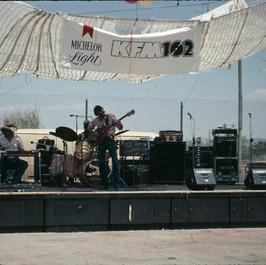 1st gig in Las Vegas