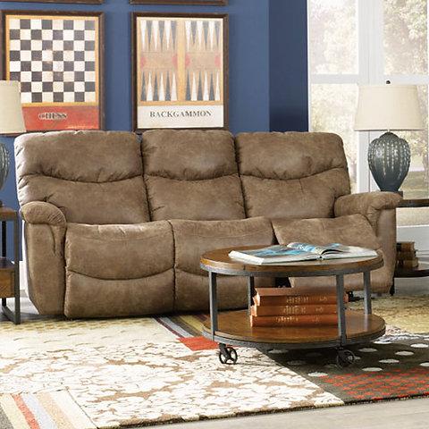 Astonishing La Z Boy James Reclining Sofa Gamerscity Chair Design For Home Gamerscityorg