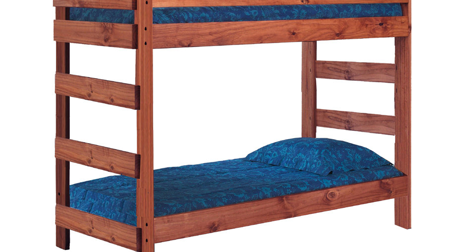One Piece Bunk Bed