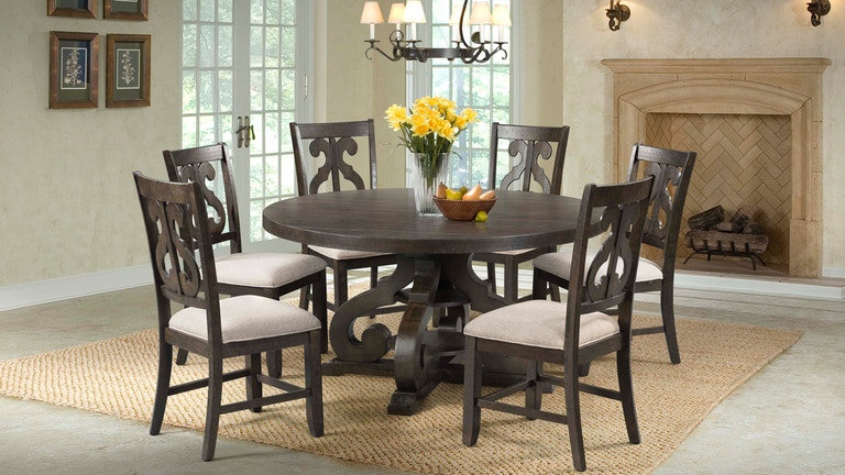 Stone Table and 6 Chairs