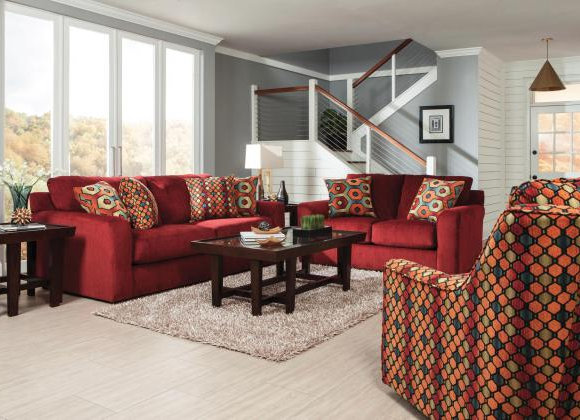 Sutton Sofa and Loveseat