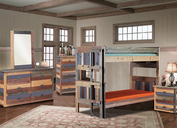 Multicolored Bunk Bed