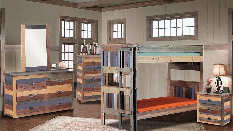 Multicolored Bunk Bed