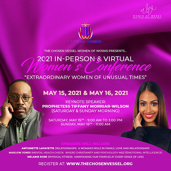 WOW (Women of Works) Ministry - 2021 Virtual Women's Conference