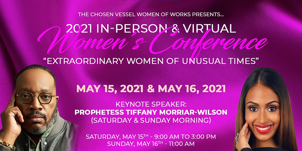 WOW (Women of Works) Ministry - 2021 In-Person & Virtual Women's Conference