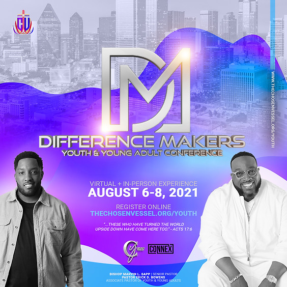 Difference Makers Youth & Young Adult Conference