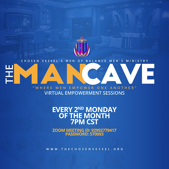The ManCave (Virtual Empowerment Sessions)