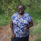 Monica Makori- Chairlady, Neema Women's group