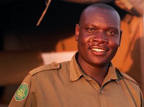 Wildlife Works Head Ranger Eric Sagwe