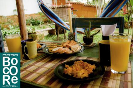 Desayunos patio trasero