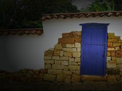 Barichara Casa Bocore puerta antigua col