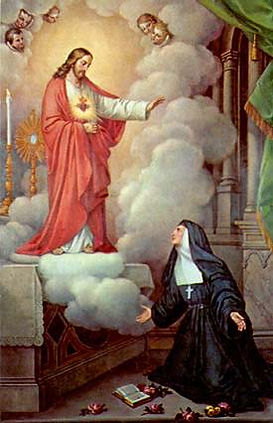 Sacred Heart and St Margaret Mary Alacoq